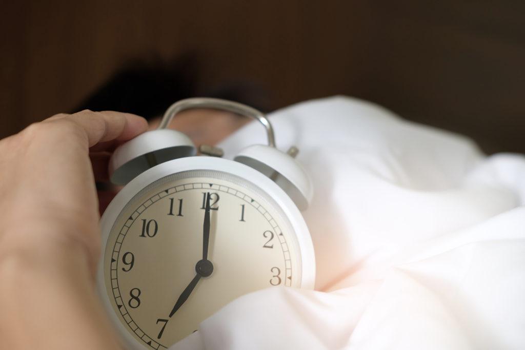 Reveil, résolutions, sommeil