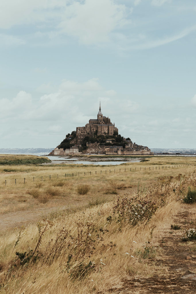 Le Mont-Saint-Michel en France