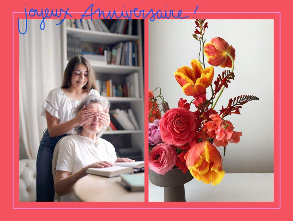 carte anniversaire grand-mère