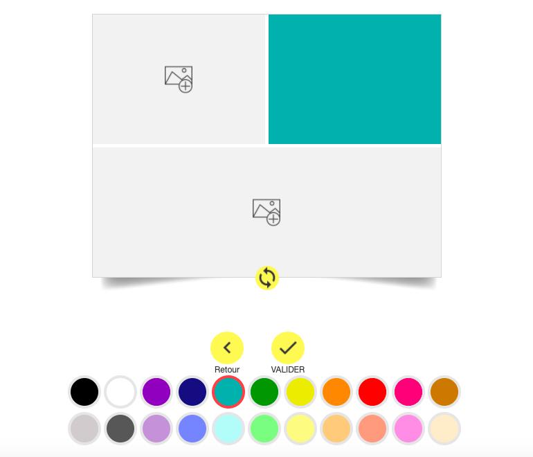 Choisir la couleur de votre choix