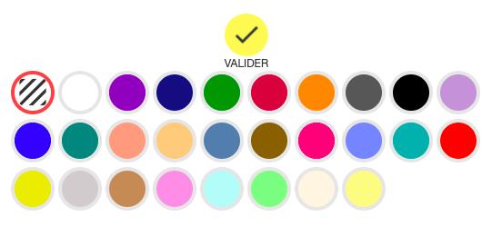 Color arrière-plan