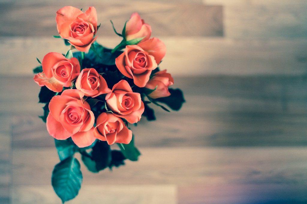 Bouquet de roses à son ou sa Valentin(e)