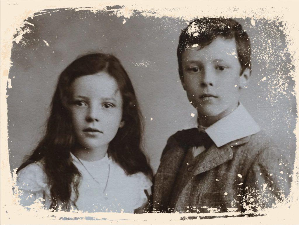 frère et sœur image