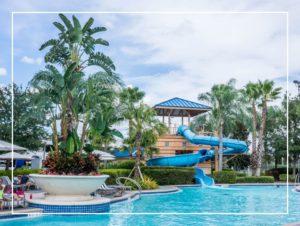Parc aquatique palmiers