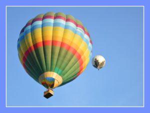 activités famille vol en montgolfière