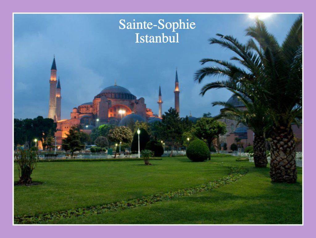 La Sainte-Sophie, en Turquie