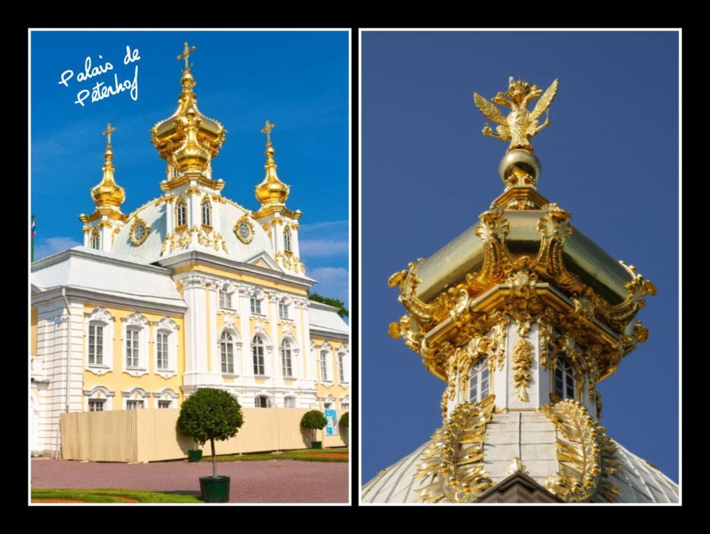 Palais de Peterhof sites historiques
