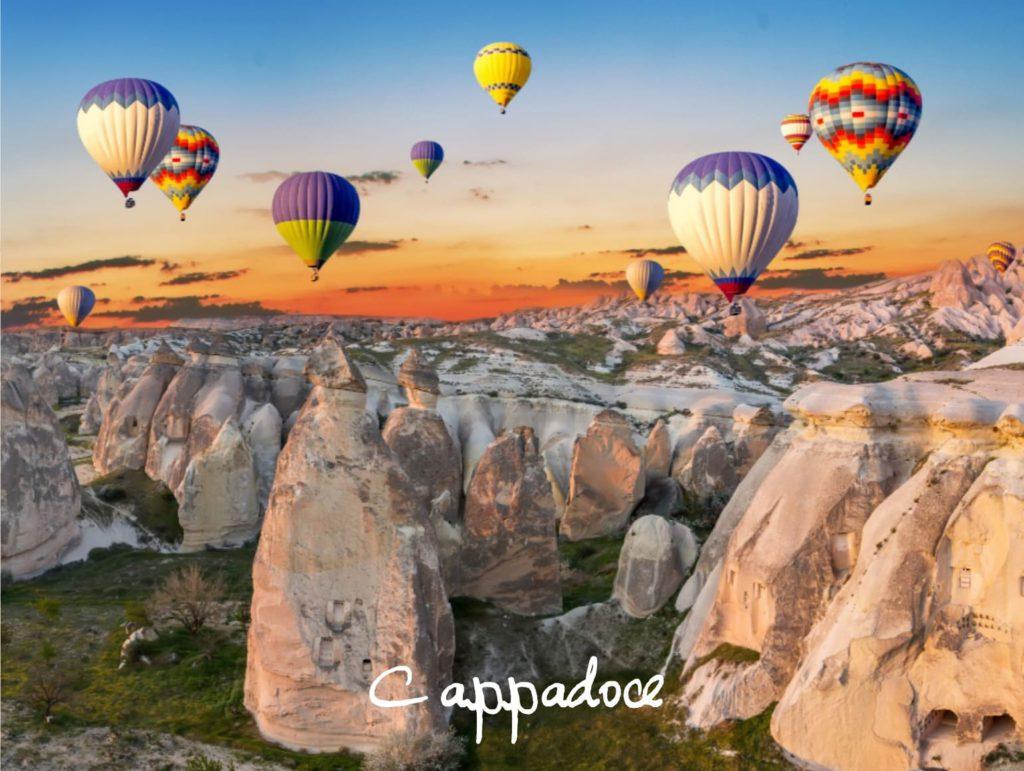 Cappadore sites historiques