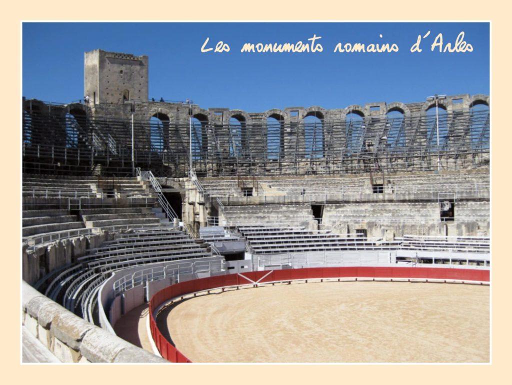 Monuments romains d'Arles patrimoine français