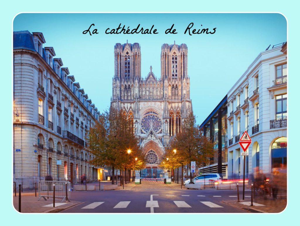 Cathédrale de Reims patrimoine français